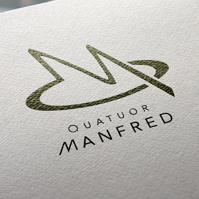 Quatuor Manfred logo