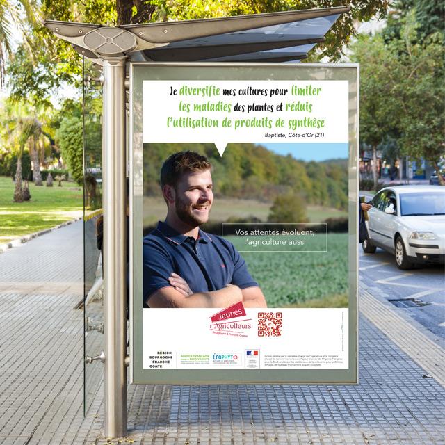 Jeunes Agriculteurs, campagne d'affichage